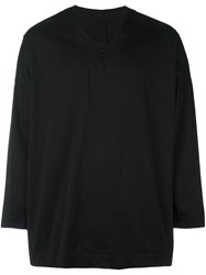 Casey Casey Relaxed Fit Top Black