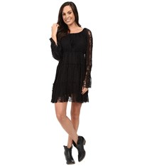 Scully Honey Creek Flirtatious Lace Dress Black Women's Dress