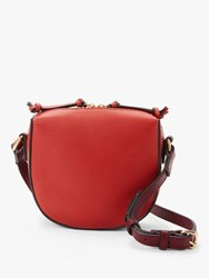 And Or Pachuca Small Leather Cross Body Bag Red