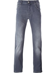 Jacob Cohen Straight Leg Jeans Grey
