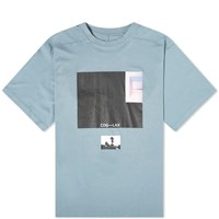Unravel Project Square Oversized Tee Blue