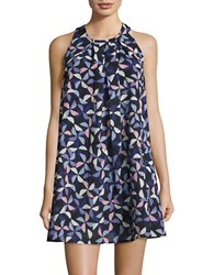 Kate Spade Wildwood Beach Cover Up Dress Rich Navy