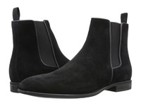 Aquatalia By Marvin K Adrian Black Dress Suede Men's Pull On Boots