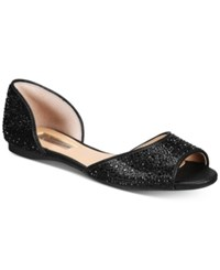 Inc International Concepts Women's Elsah Embellished D'orsay Flats Only At Macy's Women's Shoes Black