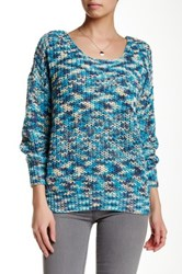 Chaudry Crisscross Back Sweater Blue