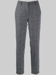 Fabiana Filippi Plaid Trousers Grey