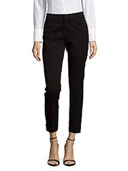 Saks Fifth Avenue Solid Cropped Pants Bone