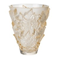 Lalique Champs Elysees Bowl Gold Luster