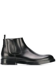 Dolce And Gabbana Firenze Chelsea Boots Black