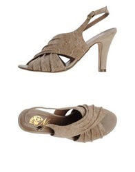 Nora High Heeled Sandals Beige