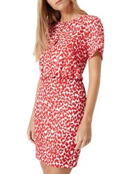 Damsel In A Dress Strawberry Leopard White Red