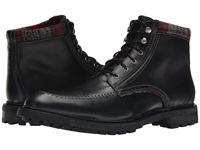 Woolrich Woodwright Black Plaid Wool Men's Boots