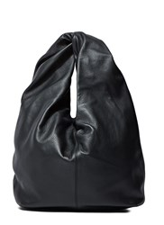 J.W.Anderson Twisted Leather Hobo Bag Black