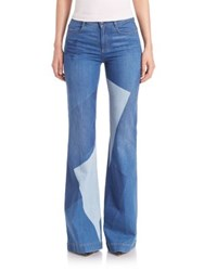 Stella Mccartney Wide Leg Print Patch Jeans Multicolour 8487