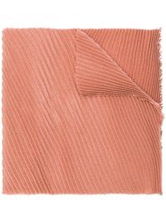 Destin Pleated Scarf Pink And Purple