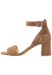 Shoe The Bear May Sandals Taupe Light Brown