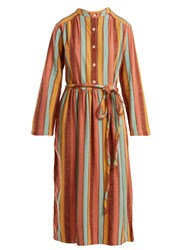 Ace And Jig Grace Button Fastening Dress Multi
