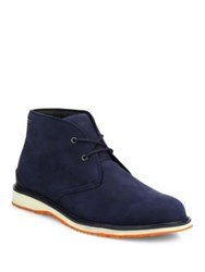 Swims Barry Classic Leather Chukka Boots Navy