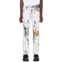 Off White Dirty Jeans