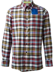 Raf Simons Sterling Ruby Plaid Shirt Multicolour