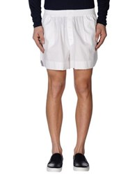 Laurence Dolige Trousers Shorts Men White