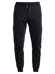 Adidas Originals By Wings Horns Superstar Striped Cotton Blend Twill Track Pants Navy