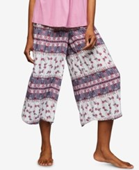 A Pea In The Pod Maternity Pajama Pants Floral Border