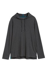Tommy Bahama Big And Tall Bali Skyline Hooded Pullover Charcoal Heather