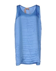 Ndegree 21 Tops Pastel Blue