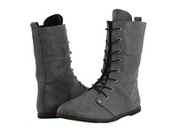Cobian Trystyn Charcoal Women's Lace Up Boots Gray