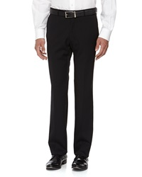 Neiman Marcus Skinny Wool Dress Pants Black