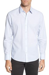 Zachary Prell Aggrey Regular Fit Sport Shirt Ice