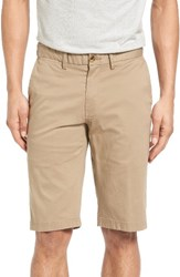 Ben Sherman Men's Slim Stretch Chino Shorts Stone