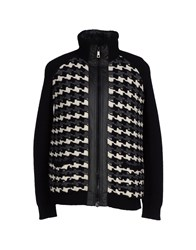Blue Les Copains Coats And Jackets Jackets Men Black
