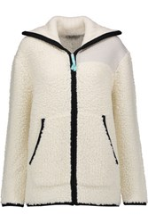 Alexander Wang T By Boucle Knit Sweater Off White