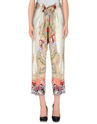 Etro Trousers Casual Trousers Women Ivory