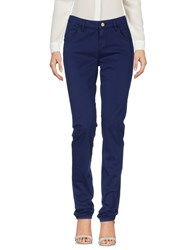 Re Hash Trousers Casual Trousers Dark Blue