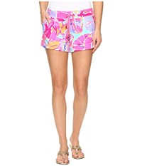 Lilly Pulitzer Vina Shorts Multi Jam Out Women's Shorts