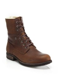 Ugg Larus Wool Lined Leather Boots