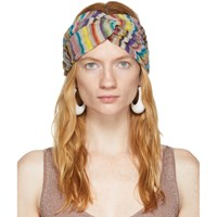 Missoni Multicolor Striped Headband