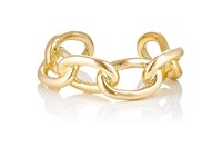 Jennifer Fisher Women's Xl Chain Link Cuff Gold