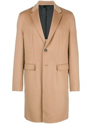 Joseph Single Breasted Coat Nude And Neutrals