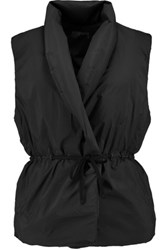 James Perse Padded Shell Gilet Black