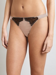 Alice By Temperley Somerset By Alice Temperley Mia Thong Vanilla Black