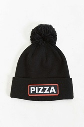 Coal The Vice Pizza Pom Beanie Black