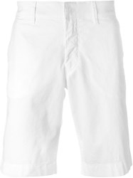 Fay Deck Shorts White