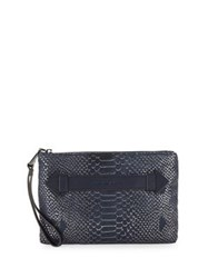 Aimee Kestenberg Zip Leather Wristlet Iridescent