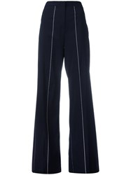 Tonello Deconstructed Trousers Women Polyamide Polyester Spandex Elastane Virgin Wool 42 Black