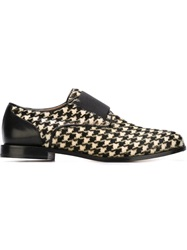 Viktor And Rolf Houndstooth Loafers Nude And Neutrals