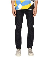 Vivienne Westwood Anglomania Classic Tapered Jeans In Blue Denim Blue Denim Men's Jeans